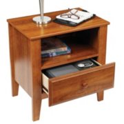 top-opening anti-theft drawer safe in side table drawer image number 2