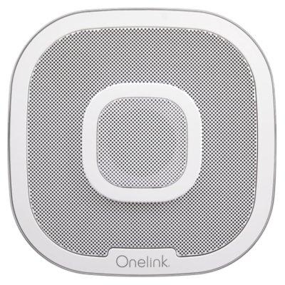 Safe & Sound Smart Smoke + Carbon Monoxide Alarm and Speaker with Amazon Alexa
