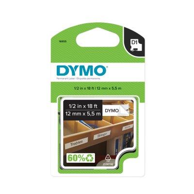 DYMO D1 Permanent Plastic Labels