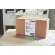 shipping label on package image number 3