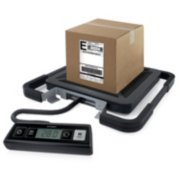 digital scale weighing a package image number 2