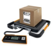 digital shipping scale with package on top image number 2