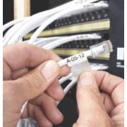 electrical wires being labeled image number 4