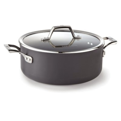 Calphalon Williams-Sonoma Elite Hard-Anodized Nonstick 5-Quart Dutch Oven with Cover