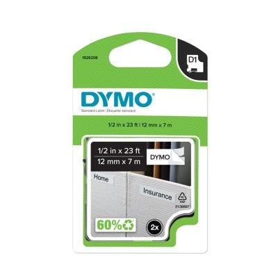DYMO D1 Standard Labels, 2 Count