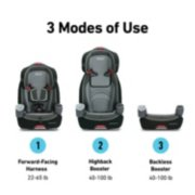 Nautilus® 65 3-in-1 Harness Booster Car Seat image number 1