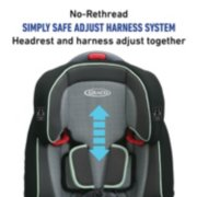 Nautilus® 65 3-in-1 Harness Booster Car Seat image number 2