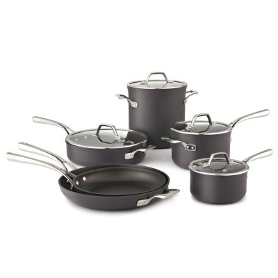 Calphalon Williams-Sonoma Elite Hard-Anodized Nonstick 10-Piece Set