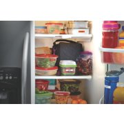 food and drink containers labeled in fridge image number 3