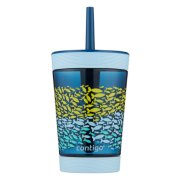 Kids Spill-Proof Tumbler with Straw, 14oz image number 2
