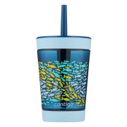 Kids Spill-Proof Tumbler with Straw, 14oz image number 0