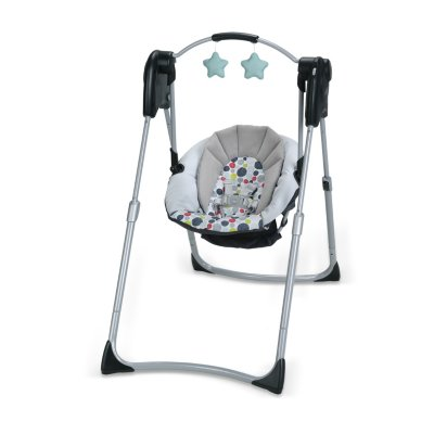 Slim Spaces™ Compact Baby Swing