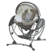 soothing system glider with removable bassinet image number 0