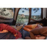 inside view of coleman 6 person instant cabin tent image number 6