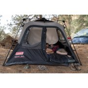 coleman 6 person instant cabin tent with door open image number 5