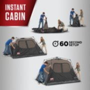 coleman instant cabin tent with 60 second setup image number 2