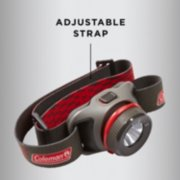 coleman battery guard head lamp with adjustable strap image number 4