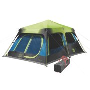 10-Person Dark Room Instant Cabin Tent with Rainfly image number 2