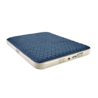 Air Mattress with Zip-On Insulation & Battery-Operated Pump, Queen