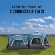 fast pitch connecting tents assembled image number 1