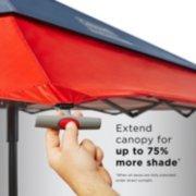coleman adjustable shade shelter canopy image number 1