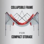 Coleman adjustable shade shelter collapsible frame image number 6
