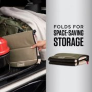 coleman collapsible soft cooler folds flat image number 1