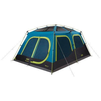 10-Person Dark Room Cabin Camping Tent with Fast Pitch Setup