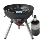 4-in-1 Portable Propane Gas Cooking System, Black image 9
