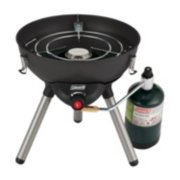 4-in-1 Portable Propane Gas Cooking System, Black image 2