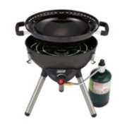 4-in-1 Portable Propane Gas Cooking System, Black image 6
