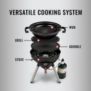 camping stove 4 in 1 cooking system image number 1