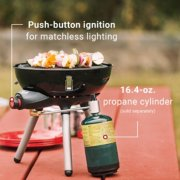 camping stove push button ignition, holds 16.4 oz propane cylinder image number 5