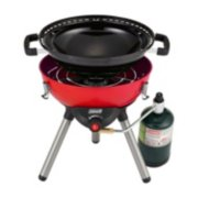 4-in-1 Portable Propane Gas Cooking System, Red image 6