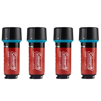 OneSource Rechargeable Lithium-Ion Battery, Pack of 4