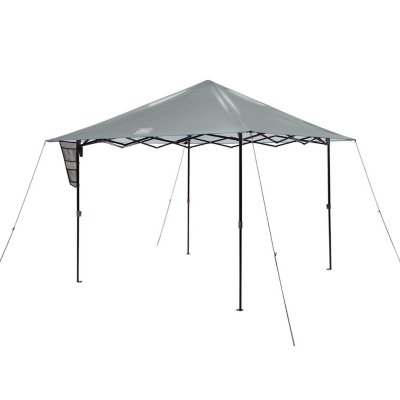 OneSource 10 x 10 Canopy Shelter with LED Lighting & Rechargeable Battery