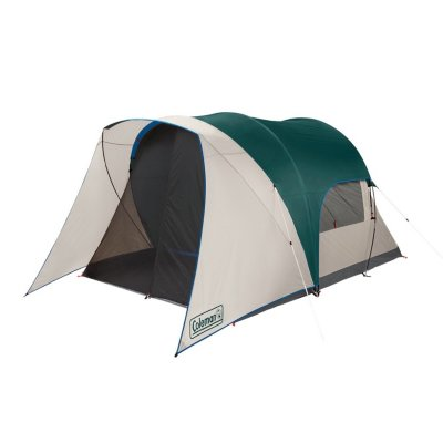 4-Person Cabin Tent with Screened Porch, Evergreen