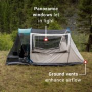 6-Person Cabin Tent with Screened Porch, Evergreen image number 4