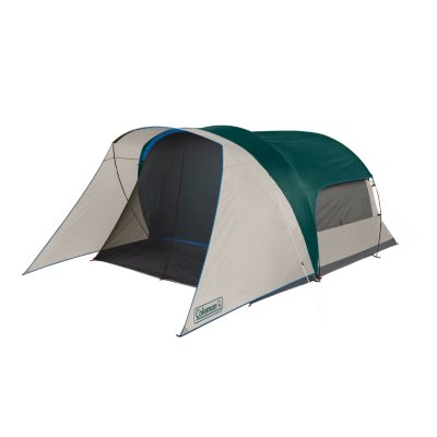 6-Person Cabin Tent with Screened Porch, Evergreen