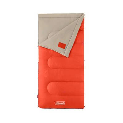 Oak Point™ 30°F Big and Tall Sleeping Bag, Orange
