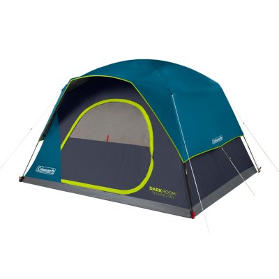 6-Person Dark Room™ Skydome™ Camping Tent, Blue