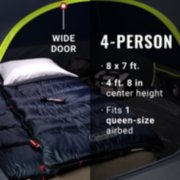 4-Person Dark Room™ Skydome™ Camping Tent image number 5