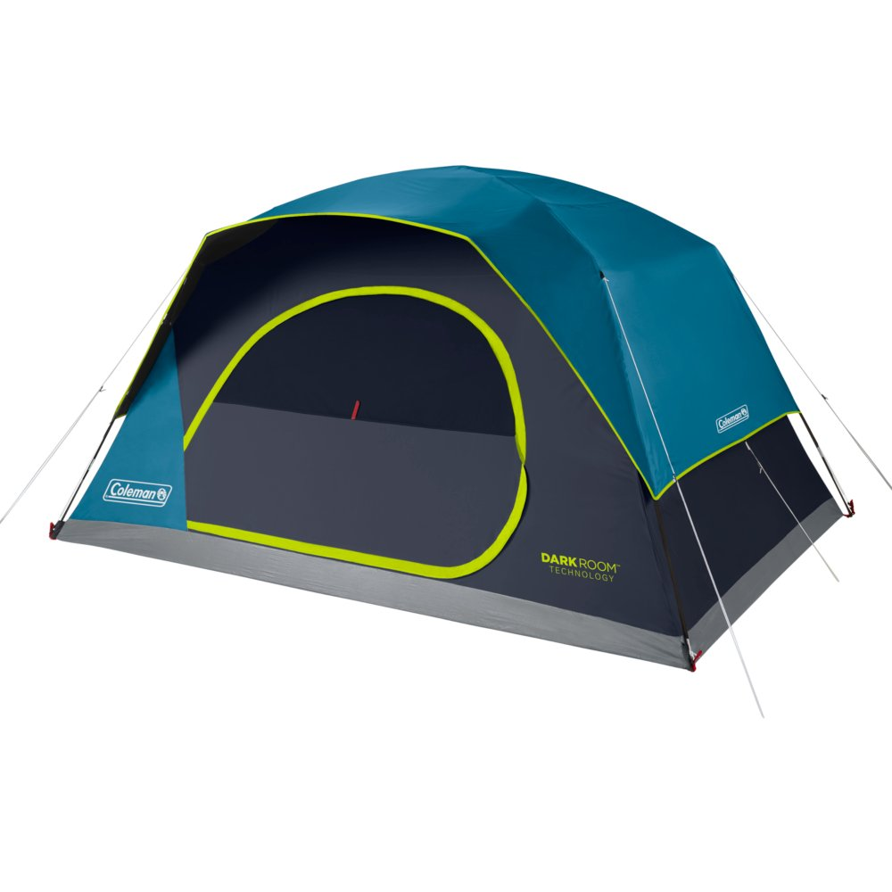 8-Person Dark Room™ Skydome™ Camping Tent, Blue