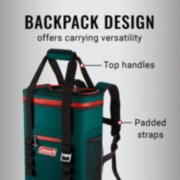 soft cooler backpack's carrying options image number 2