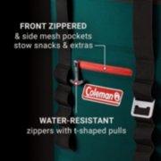 soft cooler backpack's pockets image number 3