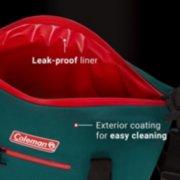 soft cooler tote's leak-proof liner image number 5