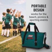 portable soft cooler tote image number 6