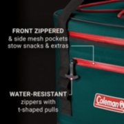 yellowstone soft cooler, pockets, water resistant zippers image number 2