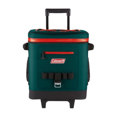 42-Can High-Performance Leak-Proof Soft Cooler with Wheels, Evergreen