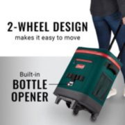 yellowstone soft cooler, wheeled, with bottle opener image number 2